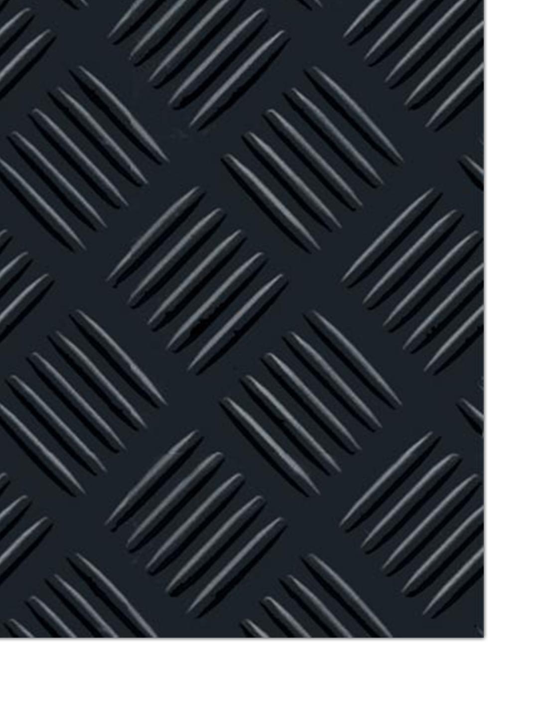 Pavimento Checker 3 mm - Rollo 15 m Ancho 1 m
