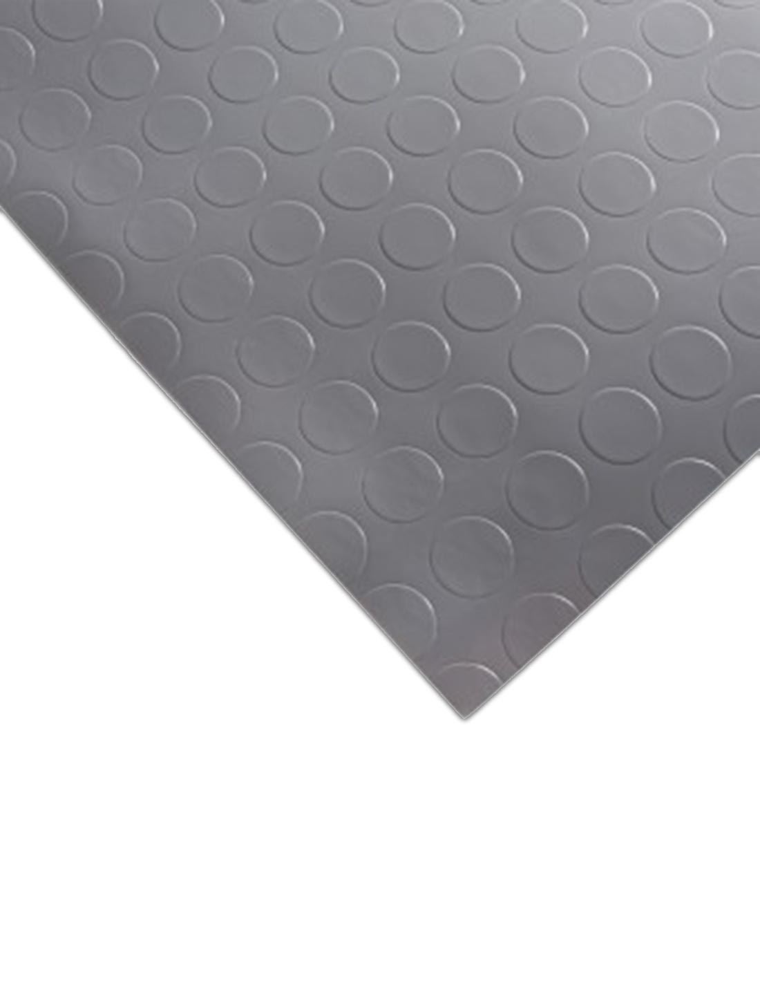 Suelo Vinílico PVC Circulos Gris