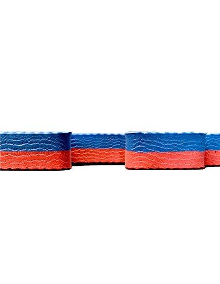 Lote x10 losetas Tatami Puzzle - Rojo/Azul