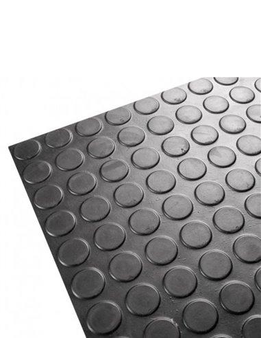 Suelo Goma Circulos 3 mm x 1 m  Precio M Lineal