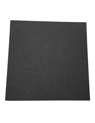 Suelo para Gimnasio 50 x 50 x 2 cm Loseta Maciza Profesional Pack de 8 losetas de Caucho para Entrenamiento