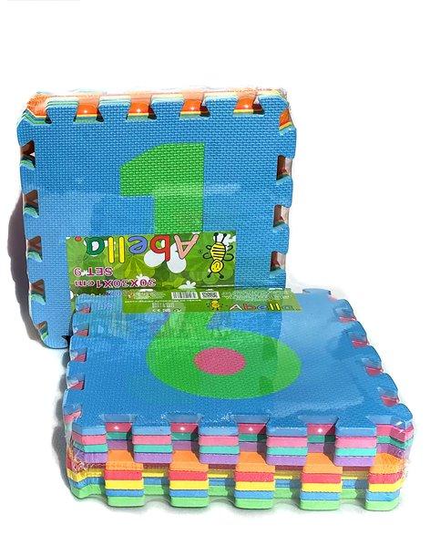 Pack x9 - Loseta de Tatami Puzzle - Multicolor