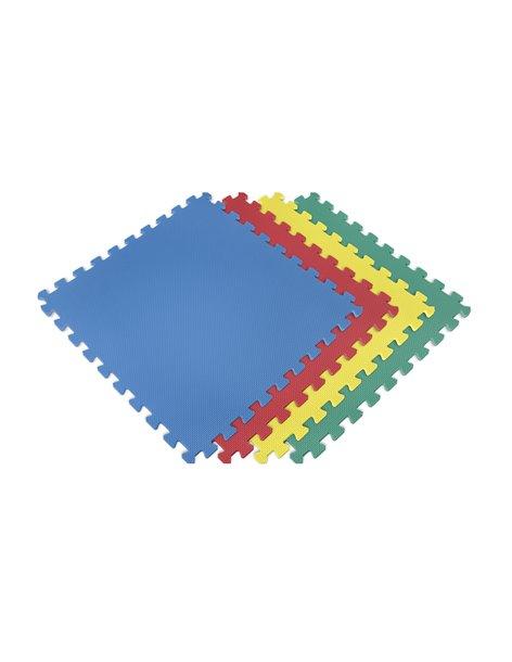 Esterilla Puzzle para Suelos de Gimnasio y Fitness   Protección de Goma Espuma, tatami puzzle Expandible 4 Unid 60x60