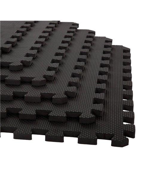 PACH AHORRO X48UDS. Esterilla Puzzle para Suelos de Gimnasio   Protección de Goma Espuma, tatami puzzle Expandible 60x60