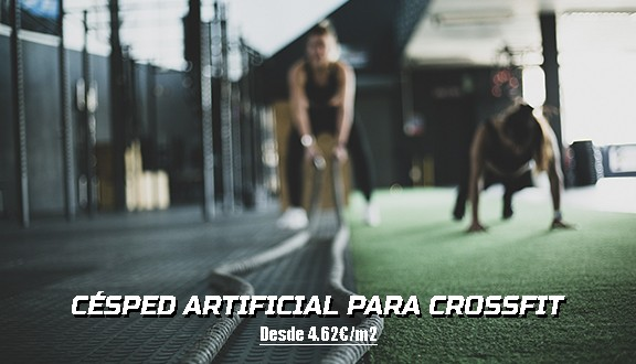cesped artificial para crossfit